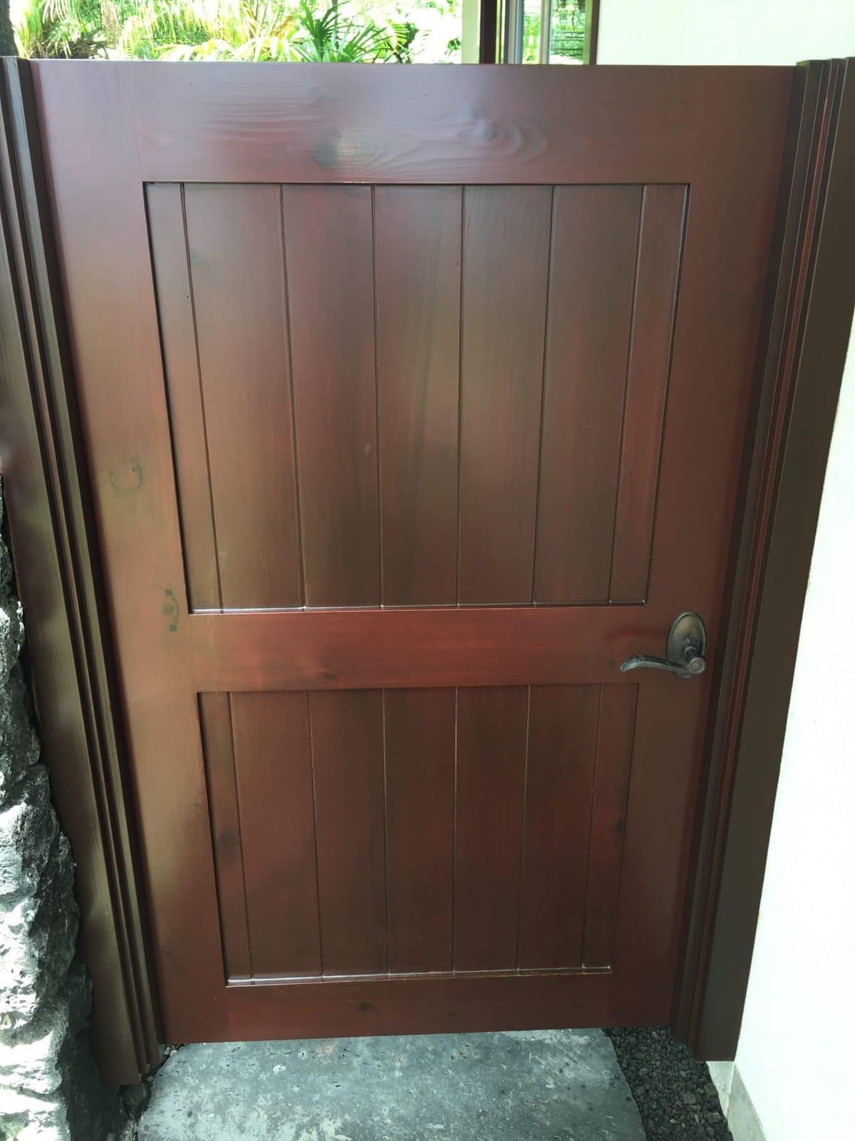 wood gate 1